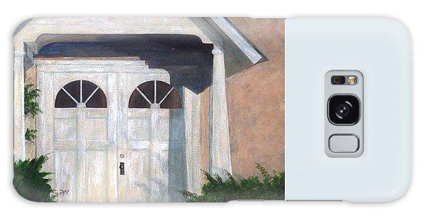 Church Doors Galaxy Case by T Fry-Green