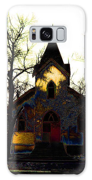 Church I Galaxy Case by Stuart Turnbull