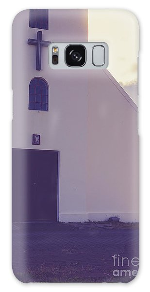 Galaxy Case featuring the photograph Church Iceland by Edward Fielding