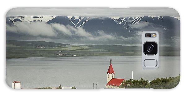 Church In Akureyri Galaxy Case