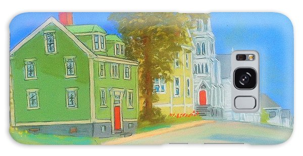 Church In Lunenburg Galaxy Case
