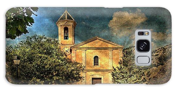 Church In Peillon Galaxy Case