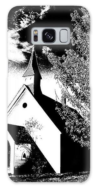 Church In Shadows Galaxy Case