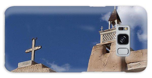 San Jose De Gracia Church, Las Trampas, N.m. Galaxy Case