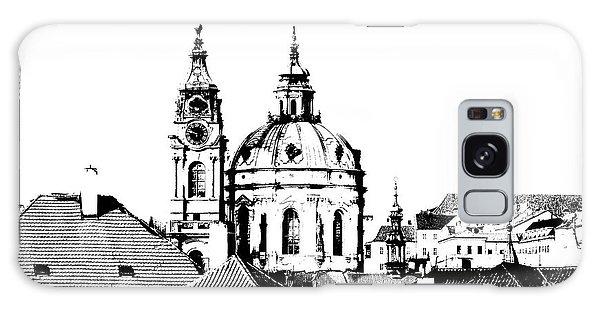 Church Of St Nikolas Galaxy Case