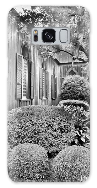 Church Of The Cross Bluffton Sc Black And White Galaxy Case