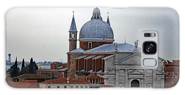 Church Of The Santissimo Redentore On Giudecca Island In Venice Italy Galaxy Case