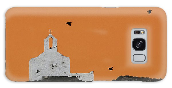 Church On A Hill Galaxy Case