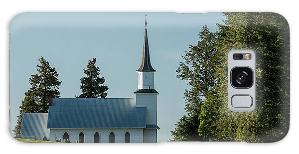 Church On The Hill Galaxy Case