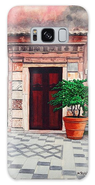 Church Side Door - Taormina Sicily Galaxy Case