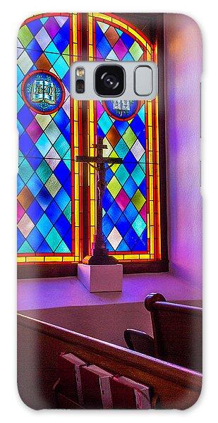 Church Window Art Galaxy Case