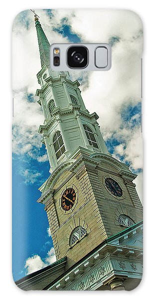 Churche Steeple Galaxy Case