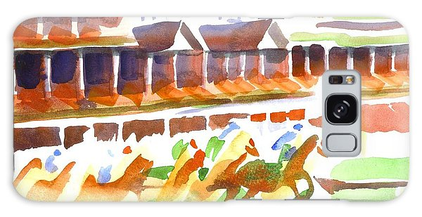 Churchill Downs Watercolor Galaxy Case