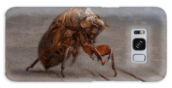 Insects Galaxy Case - Cicada Shell by Tom Mc Nemar