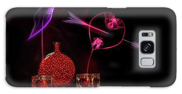 Cinnamon Hearts Galaxy Case