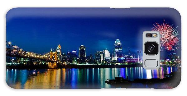 Cincinnati Boom Galaxy Case