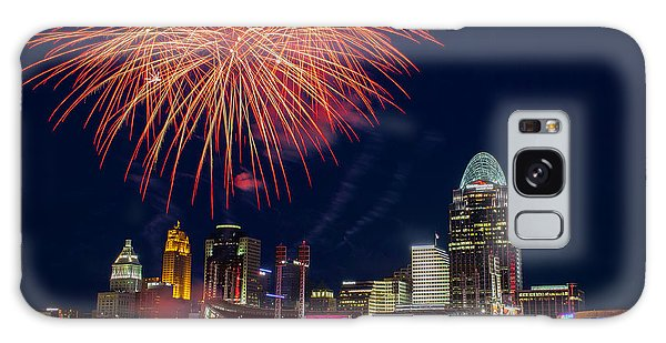 Cincinnati Fireworks Galaxy Case