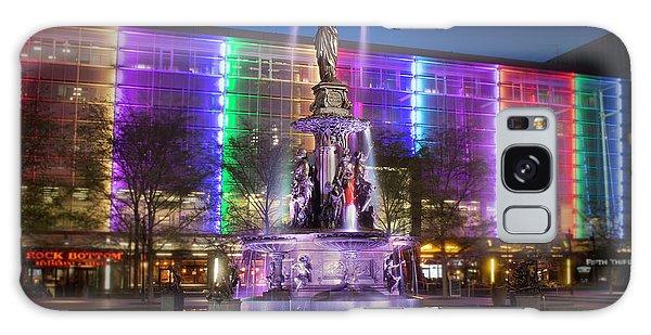 Cincinnati Fountain Square Galaxy Case by Scott Meyer