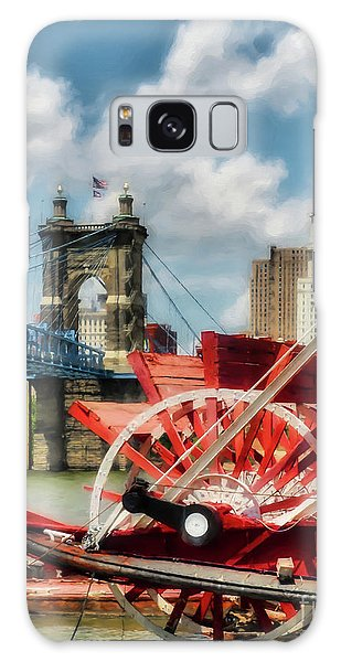 Cincinnati Landmarks 1 Galaxy Case