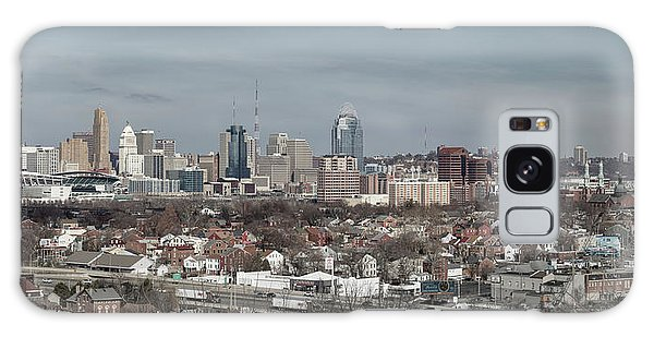 Cincinnati Panorama  Galaxy Case by Scott Meyer