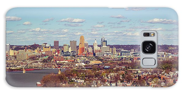 Cincinnati Skyline 2 Galaxy Case by Scott Meyer