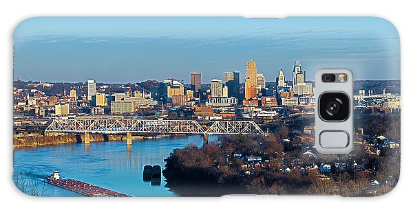 Cincinnati View From The West Galaxy Case