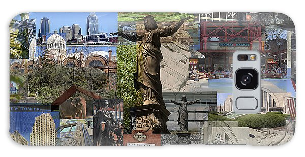 Cincinnati's Favorite Landmarks Galaxy Case