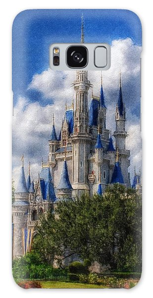 Cinderella Castle Summer Day Galaxy Case