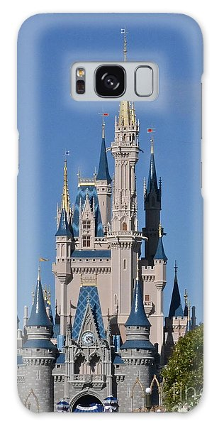 Cinderella's Castle Galaxy Case by Carol  Bradley