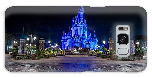 Cinderellas Castle Glow Galaxy Case