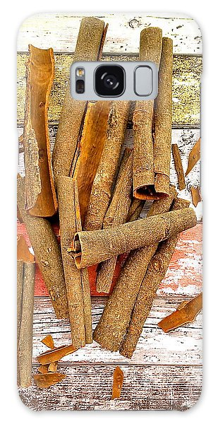 Cinnamon Bark Galaxy Case