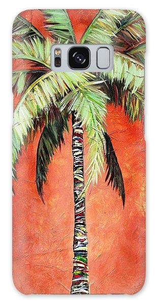 Cinnamon Palm Galaxy Case
