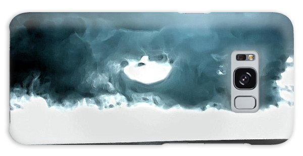 Circle Of Storm Clouds Galaxy Case
