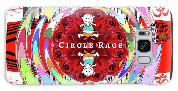 Circle Rage Galaxy Case