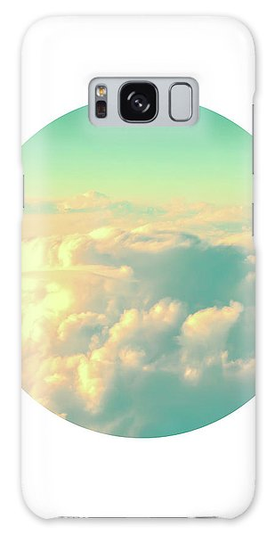 Cloudscape Galaxy Case - Circle Sky by Delphimages Photo Creations