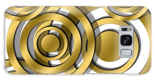 Circles - Transparent Galaxy Case
