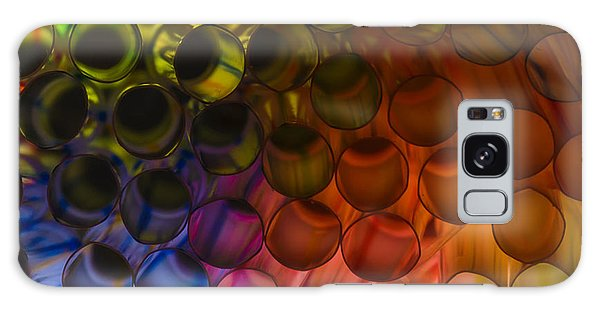 Circles In Color Galaxy Case