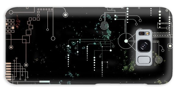 Circuit Board Galaxy Case