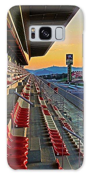 Circuit De Catalunya - Barcelona  Galaxy Case by Juergen Weiss
