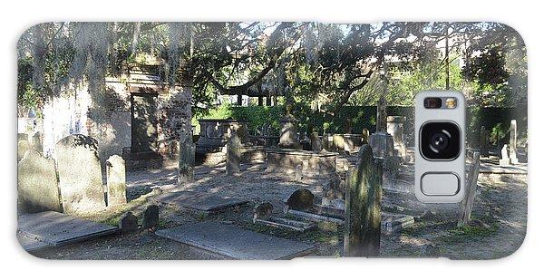 Circular Congregational Graveyard 1 Galaxy Case by Gordon Mooneyhan