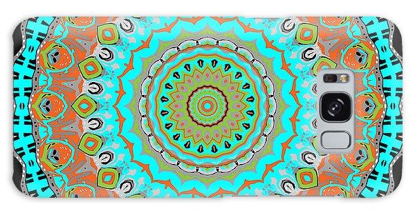 Galaxy Case featuring the digital art Circular Garden by Joy McKenzie