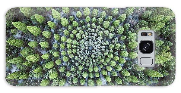 Circular Symmetry Galaxy Case