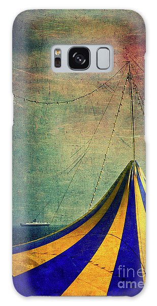 Circus With Distant Ships II Galaxy Case