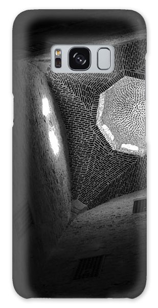 Citadel Dome Of Alex Bw Galaxy Case by Donna Corless