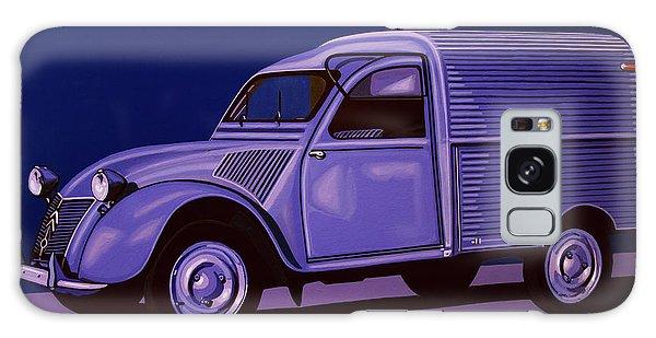 Automobile Galaxy Case - Citroen 2cv Azu 1957 Painting by Paul Meijering