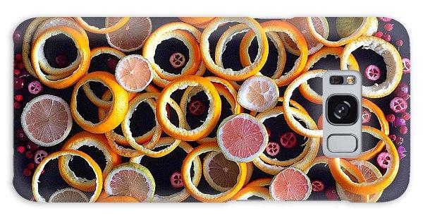Citrus Delight Galaxy Case