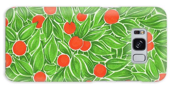 Citrus Pattern Galaxy Case