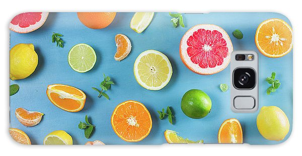 Citrus Summer Galaxy Case