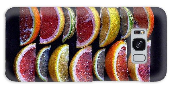 Wavy Citrus Lineage Galaxy Case