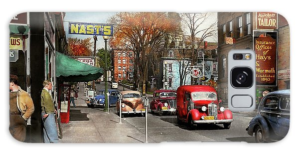 City - Amsterdam Ny - Downtown Amsterdam 1941 Galaxy Case by Mike Savad